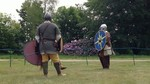 Anglo-Saxon fighting re-enactment
